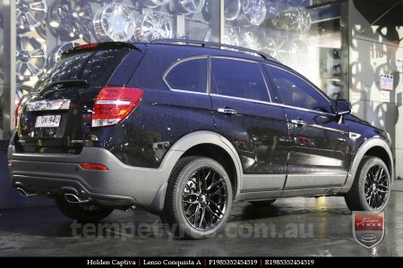 19x8.5 19x9.5 Lenso Conquista A CQA MK  on HOLDEN CAPTIVA