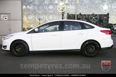 18x8.5 Lenso Spec F MB on FORD FOCUS
