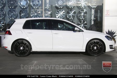18x8.0 Lenso Como - MB on VW GOLF