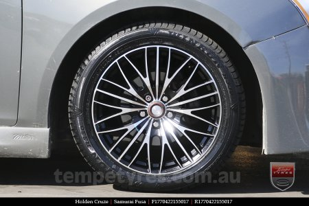 17x7.0 Samurai Fusa on HOLDEN CRUZE