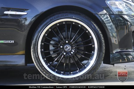 20x8.5 20x9.5 Lenso OP3 on HOLDEN COMMODORE VE