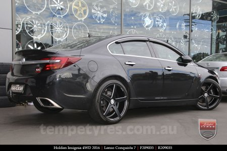 20x9.0 20x10.5 Lenso Conquista 7 MKS CQ7 on HOLDEN INSIGNIA