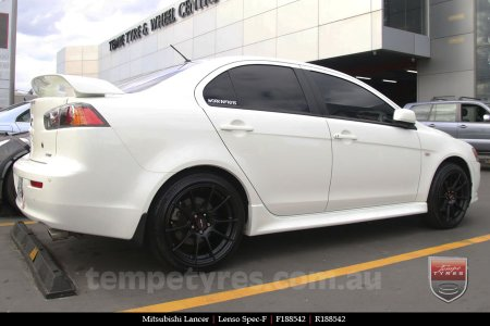 18x8.5 Lenso Spec F MB on MITSUBISHI LANCER
