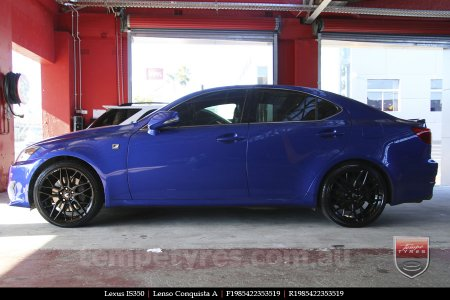 19x8.5 19x9.5 Lenso Conquista A CQA MK  on LEXUS IS350