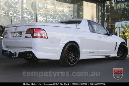 20x8.5 20x10 Simmons OM-C FB on HOLDEN MALOO