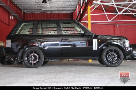 20x8.5 20x10 Simmons OM-C FB on RANGE ROVER HSE