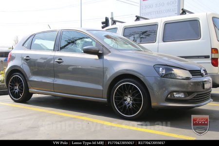 17x7.0 Lenso Type-M - MBJ on VW POLO