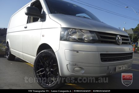19x8.5 19x9.5 Lenso Conquista A CQA MK  on VW TRANSPORTER