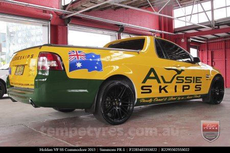 20x8.5 20x10 Simmons OM-C FB on HOLDEN COMMODORE VE
