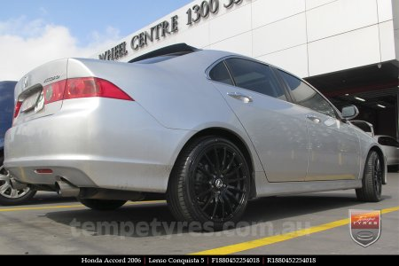 18x8.0 18x9.0 Lenso Conquista 5 SB CQ5 on HONDA ACCORD