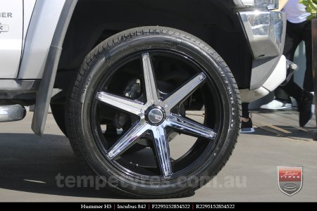 22x9.5 Incubus 842 on HUMMER H3