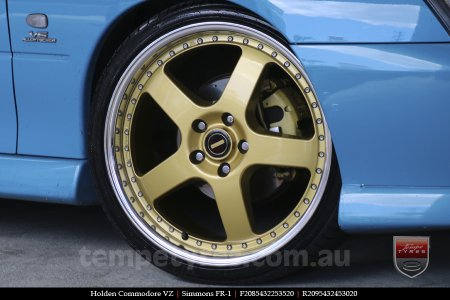 20x8.5 20x9.5 Simmons FR-1 Gold on