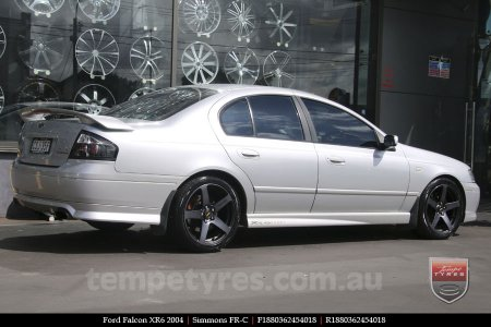 18x8.0 18x9.0 Simmons FR-C Black Tint on FORD FALCON
