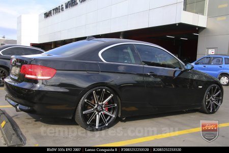 20x8.5 20x9.5 Lenso Conquista 8 CQ8 on BMW 335i