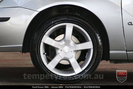 16x7.0 Akuza S004 on FORD FOCUS