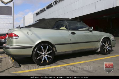 18x8.0 Incubus Zenith - MB on SAAB 1993