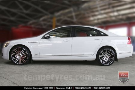 20x8.5 20x10 Simmons OM-C BM on HOLDEN STATESMAN