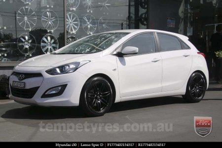 17x7.5 Lenso Spec D MB on HYUNDAI i30