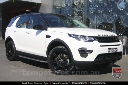20x8.0 20x9.0 Lenso Conquista 2 SB CQ2 on LAND ROVER DISCOVERY SPORT