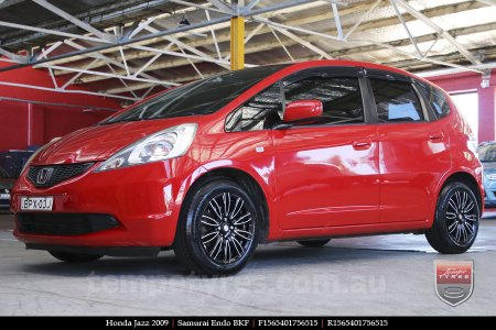 15x6.5 Samurai Endo BKF on HONDA JAZZ