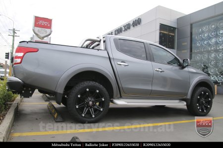 20x9.0 Ballistic Joker FB on MITSUBISHI TRITON
