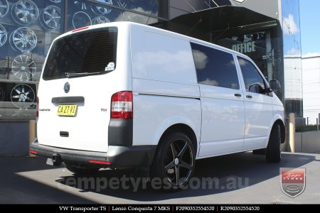 20x9.0 20x10.5 Lenso Conquista 7 MKS CQ7 on VW TRANSPORTER