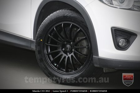 18x8.0 Lenso Speed 2 SP2 on MAZDA CX5