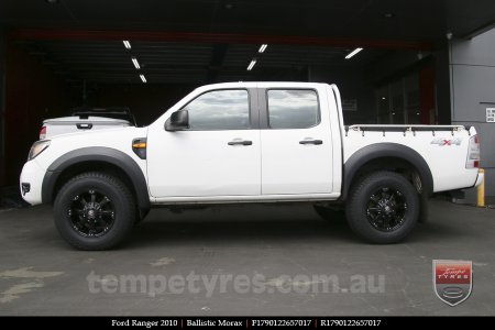 17x9.0 Ballistic Morax on FORD RANGER