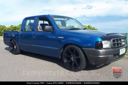 18x9.0 Lenso RTG MBW on FORD COURIER
