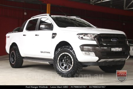 17x9.0 Lenso Max1 MBD on FORD RANGER WILDTRAK