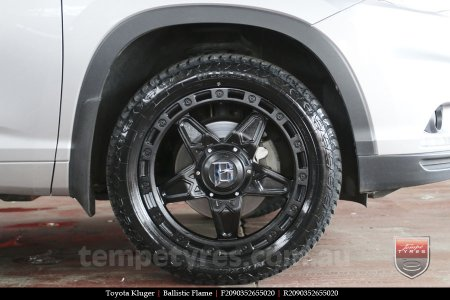 20x9.0 Ballistic Flame on TOYOTA KLUGER