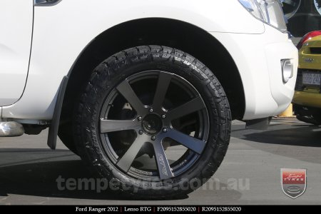 20x9.5 Lenso RTG HDW on FORD RANGER