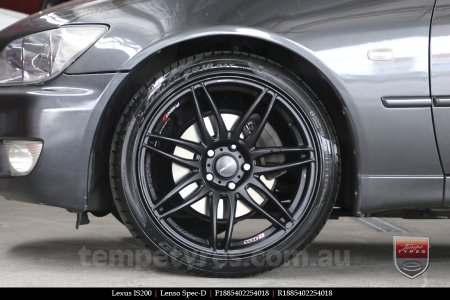 18x8.5 18x9.5 Lenso Spec D MB on LEXUS IS200