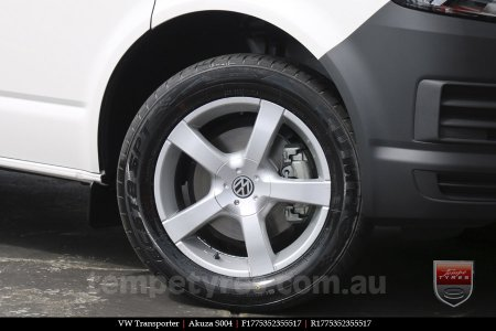 17x7.5 Akuza S004 on VW TRANSPORTER