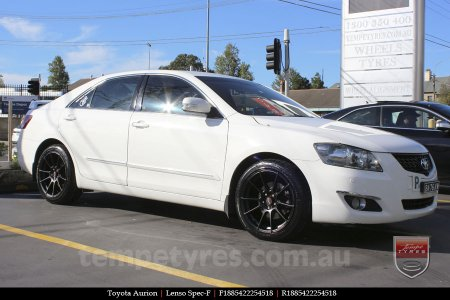 18x8.5 Lenso Spec F MB on TOYOTA AURION