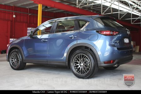 19x8.5 Lenso Type-M DG on MAZDA CX5
