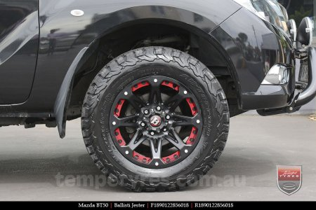 18x9.0 Ballistic Jester on MAZDA BT50