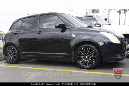 16x7.0 Samurai Endo BKF on SUZUKI SWIFT