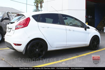 16x7.0 RS Flawless 0450 on FORD FIESTA