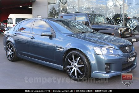 18x8.0 Incubus Zenith - MB on HOLDEN COMMODORE