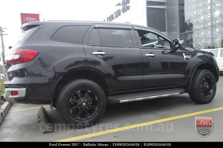 18x9.0 Ballistic Morax on FORD EVEREST