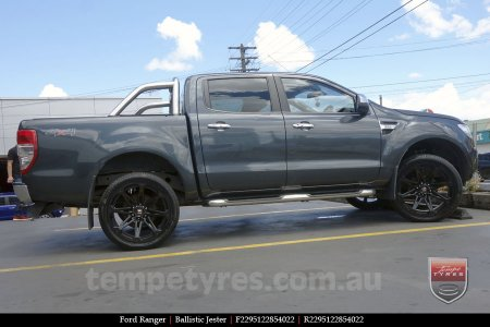 22x9.5 Ballistic Jester FB on FORD RANGER