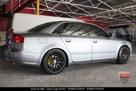 19x8.5 Lenso Type-M DG on AUDI A4