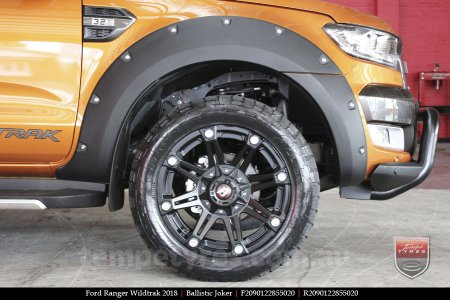 20x9.0 Ballistic Joker FB on FORD RANGER WILDTRAK