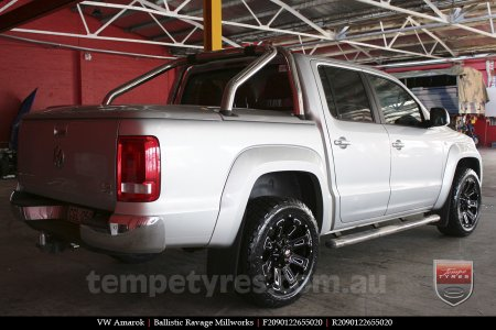 20x9.0 Ballistic Ravage Millworks on VW AMAROK