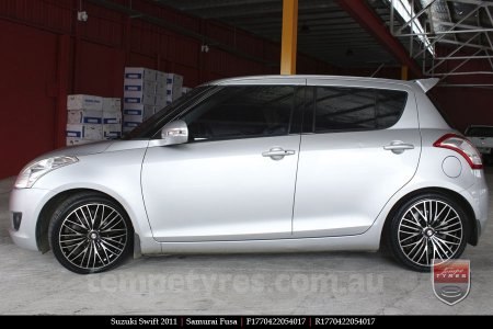 17x7.0 Samurai Fusa on SUZUKI SWIFT