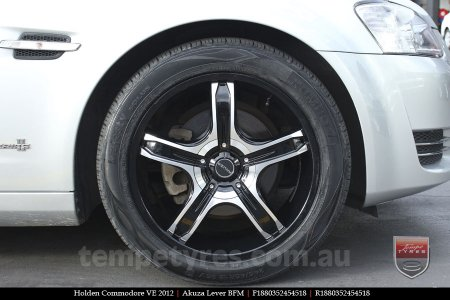 18x8.0 Akuza Lever BFM on HOLDEN COMMODORE VE