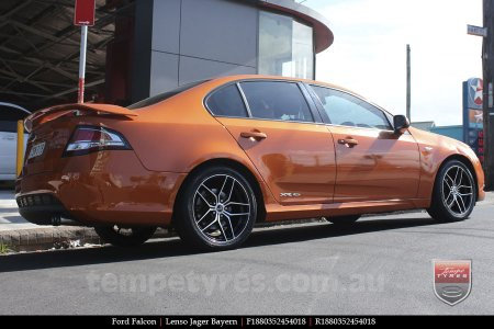 18x8.0 18x9.0 Lenso Jager Bayern BKF on FORD FALCON