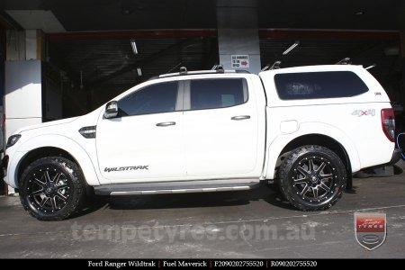 20x9.0 Fuel Maverick on FORD RANGER WILDTRAK