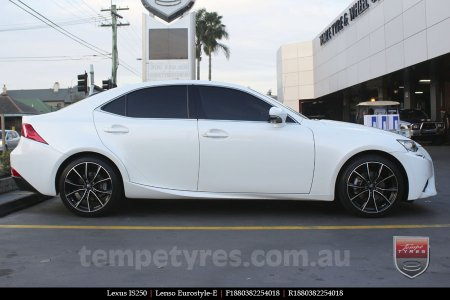 18x8.0 Lenso Eurostyle E ESE on LEXUS IS250